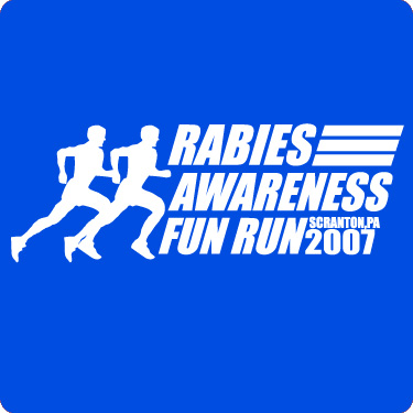 Rabies Awareness Fun Run - The Office T-Shirt