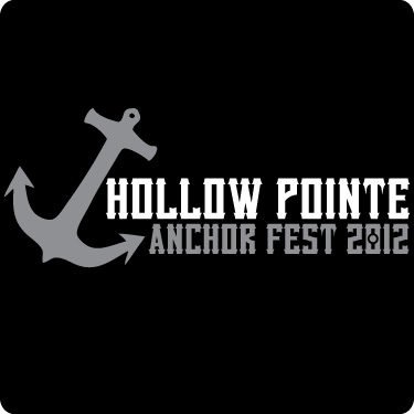 Hollow Pointe Anchor Fest 2012 (Wht,Gry)