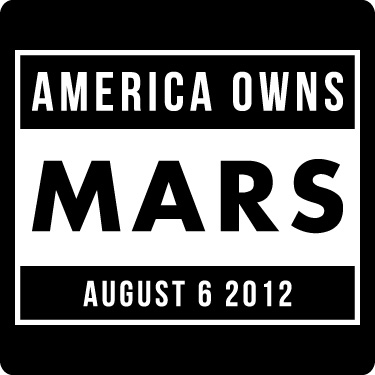 Mars Rover T-Shirt (America Owns Mars Date)