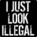 I Just Look Illegal (Funny Sergio Romo Tee)
