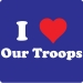 I Heart Our Troops T-Shirt