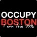 Occupy Boston Tee (I am 99 Percent)