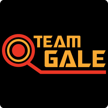 Team Gale T-Shirt (Cir,Red,Sun)