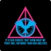 THG - Deathly Hallows - Choices Tee (Sky,NeonPnk)