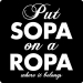Anti-SOPA Tee (Sopa on a Ropa)