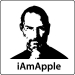 Steve Jobs Apple Resigns T-Shirt (iAmApple, Light)